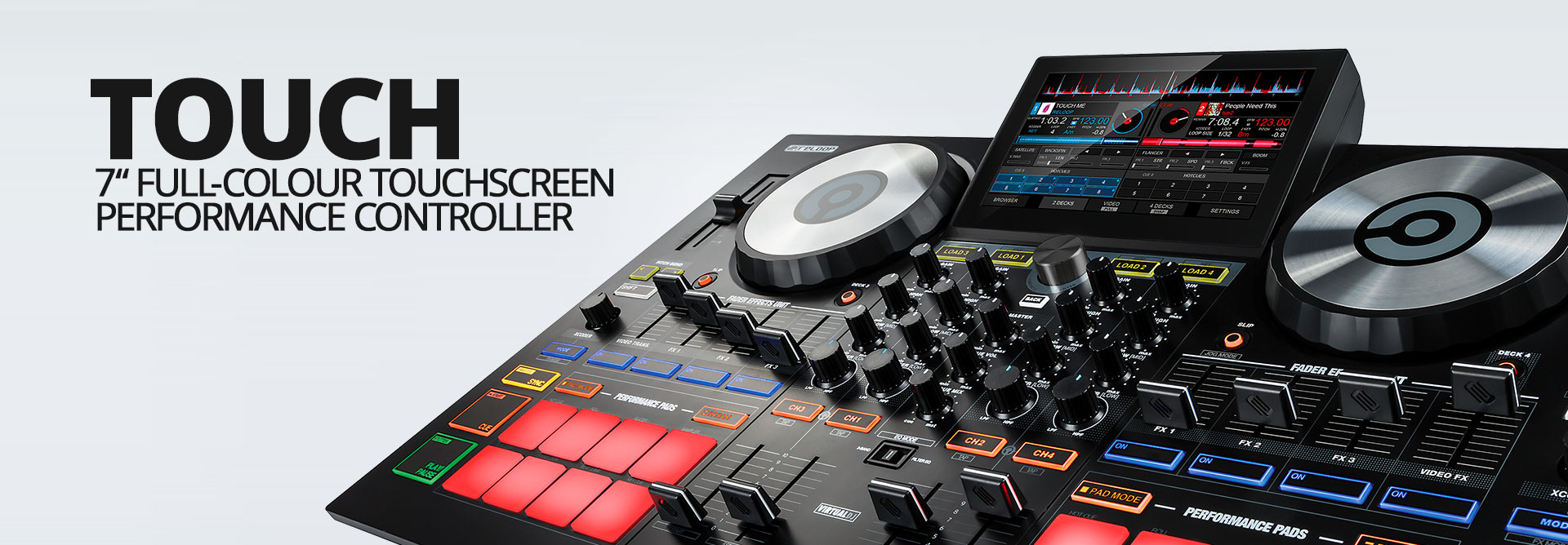 Reloop TOUCH - Header Image