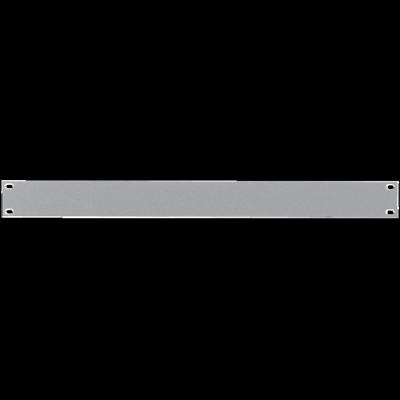Reloop 48 cm (19 Zoll) Rackblende 1 HE silver - Front View