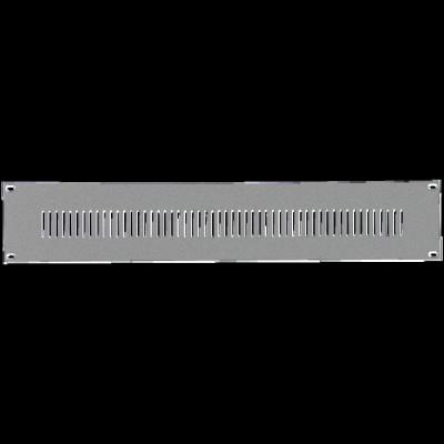Reloop 48 cm (19 Zoll) Rackblende 2 HE - Front View