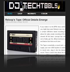 Reloop Tape @ DJ TechTools