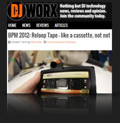 Reloop Tape @ DJ Worx