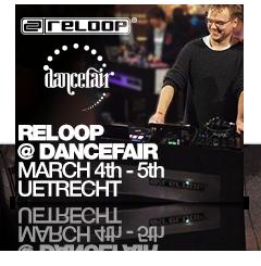 Reloop at Dancefair March 2017 in Uetrecht (NL)
