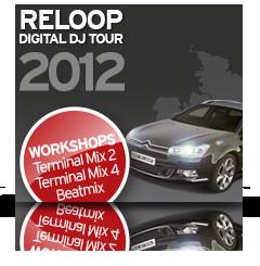 Reloop Digital DJ Tour 2012