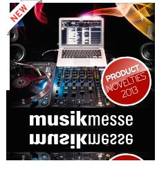 Musikmesse Novelties 2013