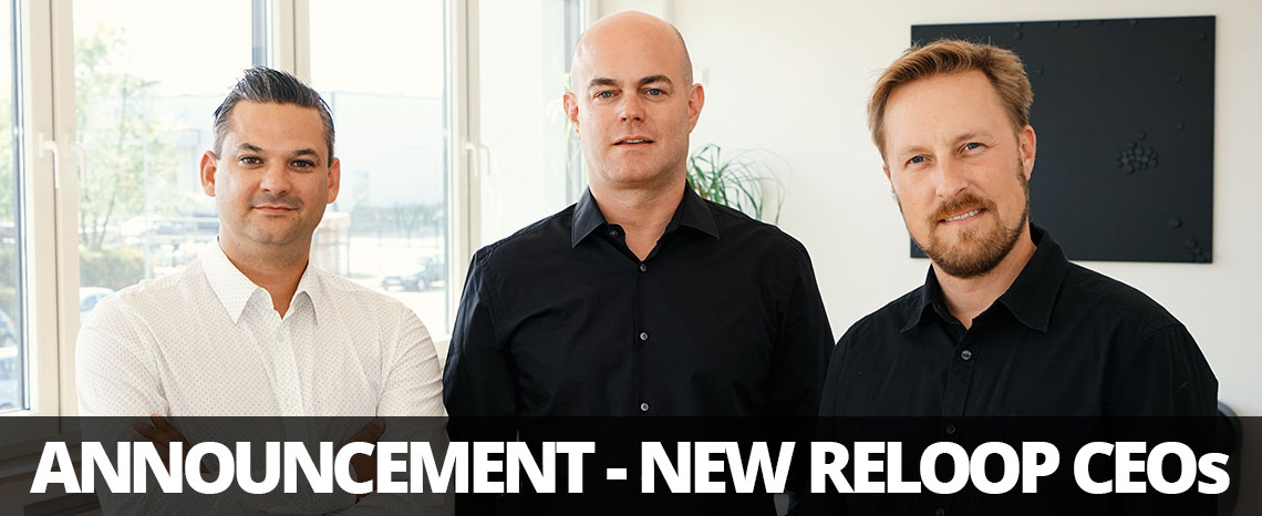 Reloop founder Robert Lauterwein appoints Gerald Barbyer & Thomas Heselhaus as new CEOs