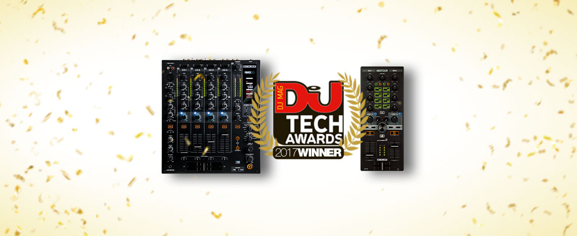 RMX-60 and Mixtour win DJ Tech Awards 2017