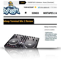 Terminal Mix 2 DJ Booth