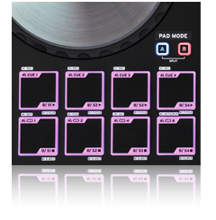 Beatmix 4 - pad section