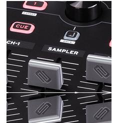 Beatmix 4 - Serato sampler control
