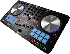 Beatmix 4 MK2 - performance-oriented 4-channel pad controller