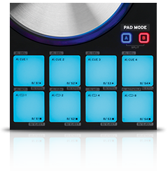 Beatmix 4 MK2 - pad section