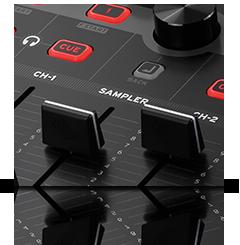 Beatmix 4 MK2 - Serato sampler control