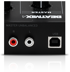 Beatmix 4 MK2 - integrated audio interface