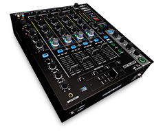Digital Club Mixer with DVS Audio Interface for Serato DJ