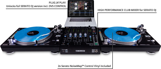 High Performance Club Mixer for Serato DJ