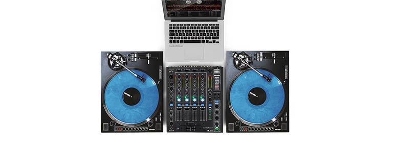 Reloop RP-8000 Straight Serato