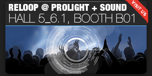 Reloop at Prolight + Sound 2017