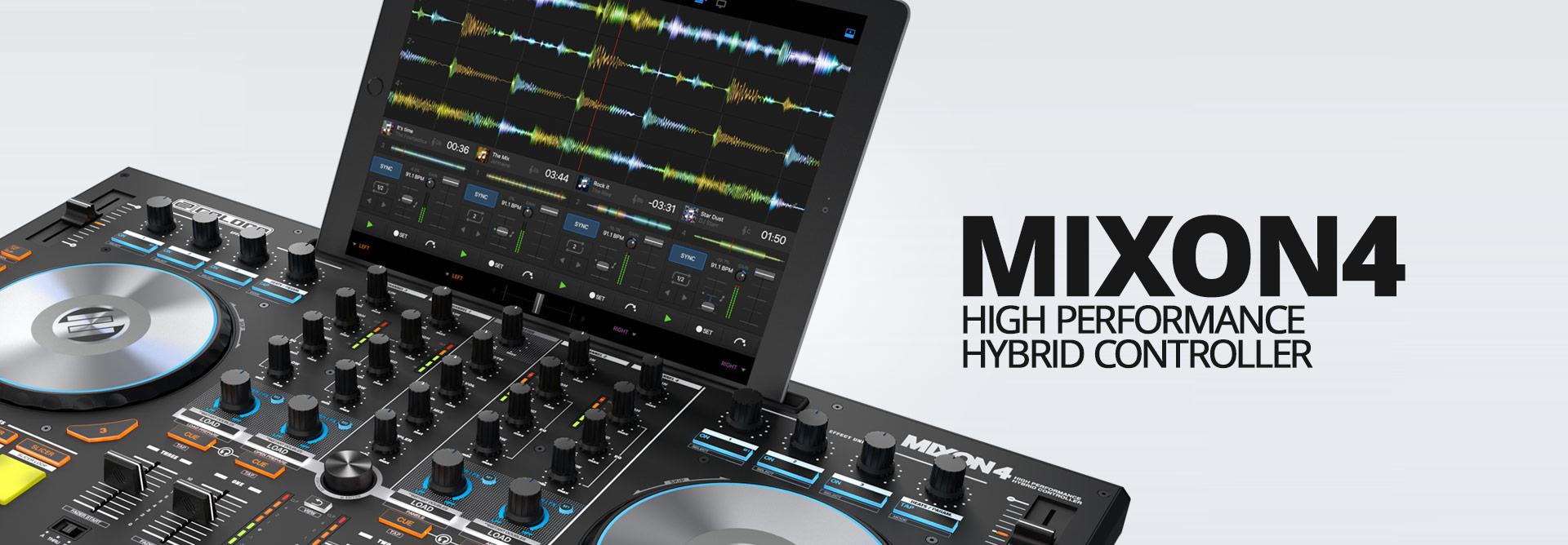 Reloop Mixon 4 - Header Image