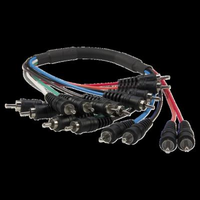 Reloop Kabel Multi-Cinch 0 5 m