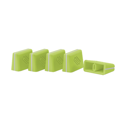 Reloop Fader Cap Set green