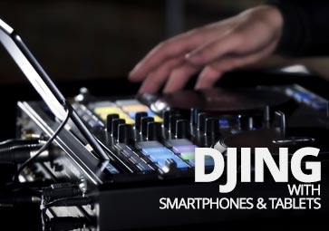 DJing with smart devices