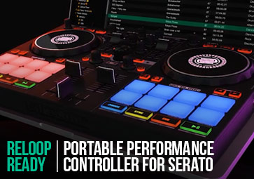 Reloop Ready - Portable Performance Controller For Serato (Introduction)