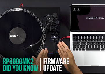 RP-8000 MK2 - How to update the Firmware?