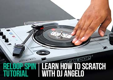 SPIN - Learn how to scratch with DJ Angelo