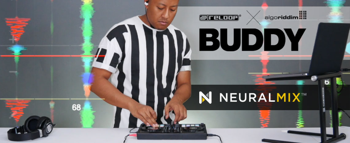 New Video: Reloop Buddy - Algoriddim djay Pro AI Neural Mix™ Performance by DJ Angelo