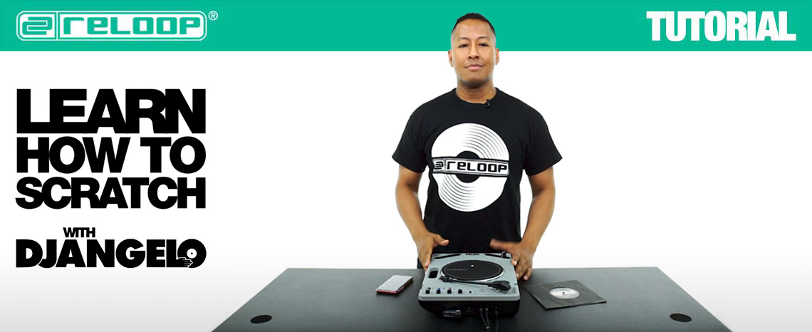 New Videos: Learn how to scratch with DJ Angelo