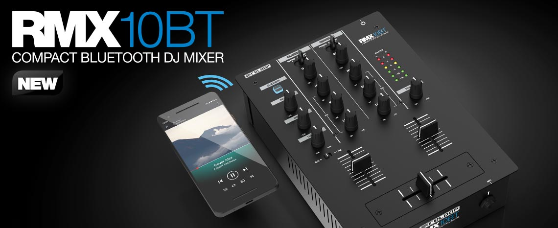 NEW: RMX-10 BT & Premium Battle Mixer Case