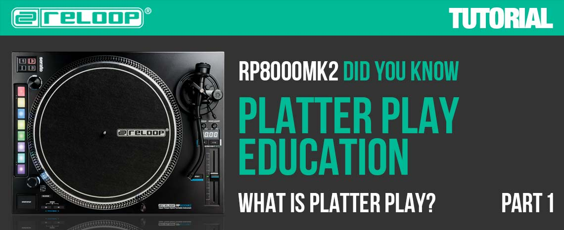 New Video: RP-8000 MK2 - Platter Play Education - Part 1