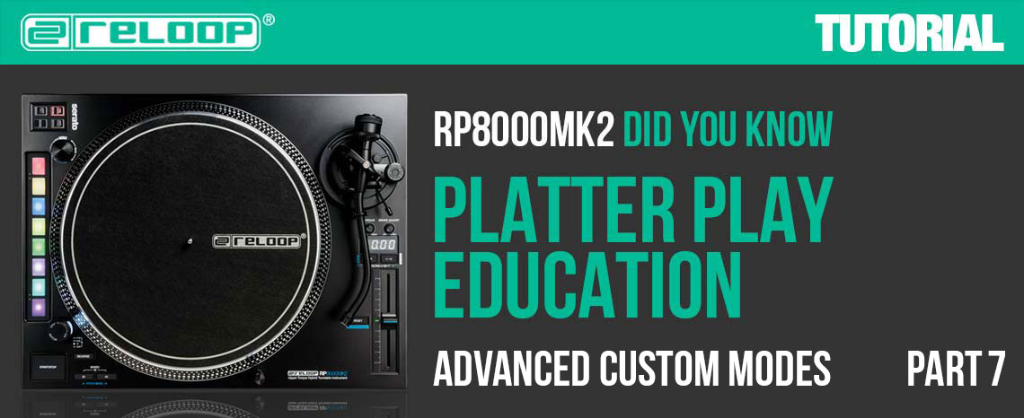 New Video: RP-8000 MK2 - Platter Play Education - Part 7
