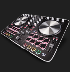 Beatmix 2 - performance-oriented 2-channel pad controller