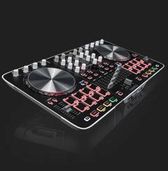 Beatmix 4 - performance-oriented 4-channel pad controller