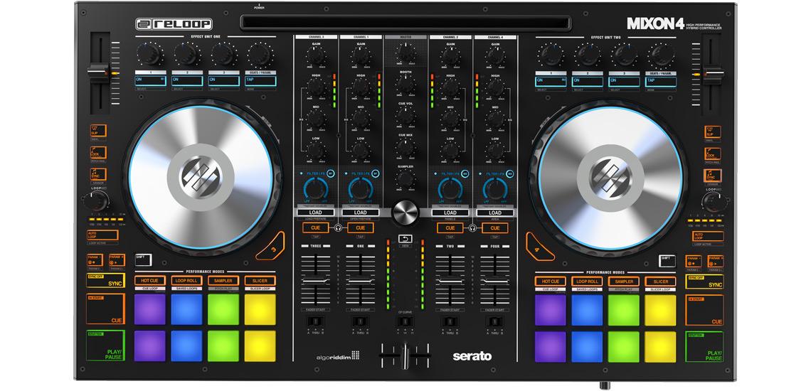 Reloop Mixon 4 tidy mixer
