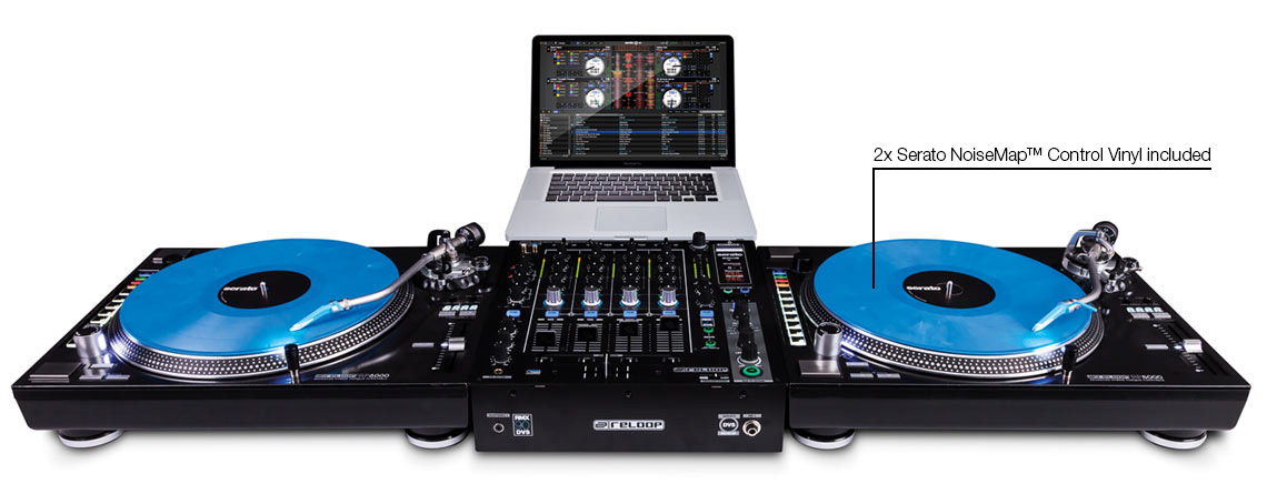 Reloop RMX-90 DVS - Serato DJ and DVS enabled