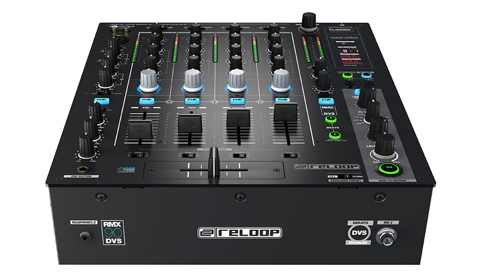 Reloop RMX-90 DVS high-quality construction