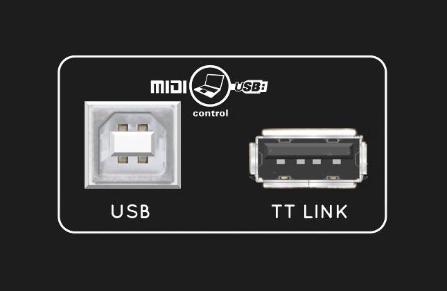 Reloop RP-8000 - Detail USB